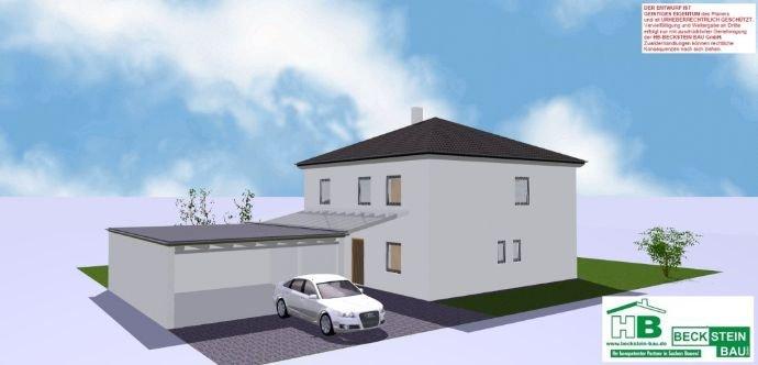 Haus 3 Ansicht 3-D Nordost