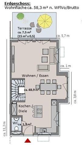Haus 4 - Grundriss Erdgeschoss