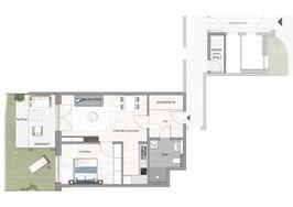 Haus 2 WE 02 Erdgeschoss