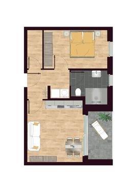 Luisen Suiten Grundriss W02