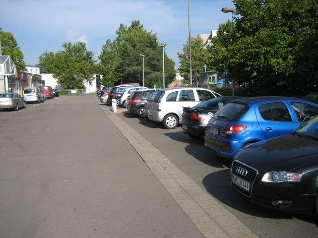 Großer Parkplatz