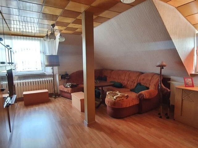 Wohnzimmer Wohnung DG
