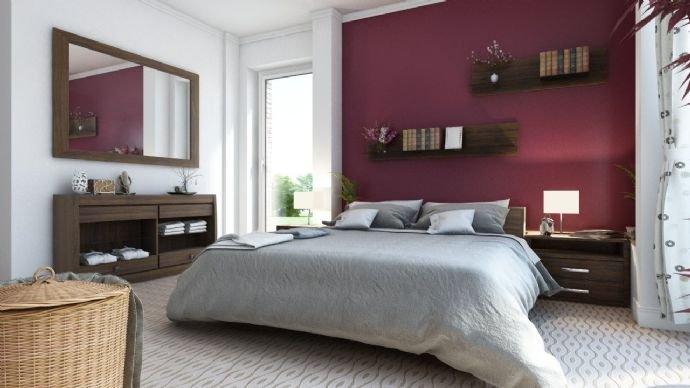 Exemplarisches Schlafzimmer