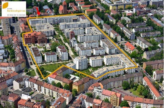 """Luftbild """"In den Nordstadtgärten"""""""