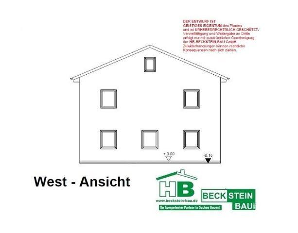 Haus 2 Ansicht West