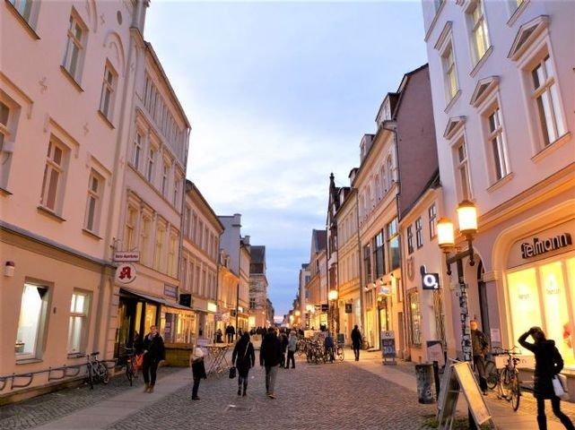 Zentrum der Stadt Greifswald