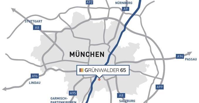 Grünwalder65 - Die Lage