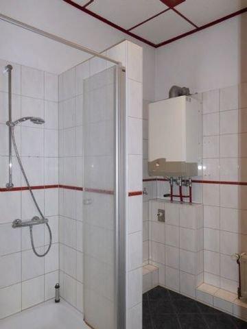 Teilansicht Bad mit Dusche