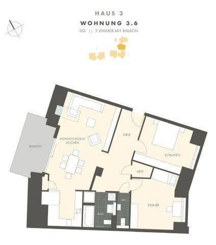 Grundriss Whg. 3.6