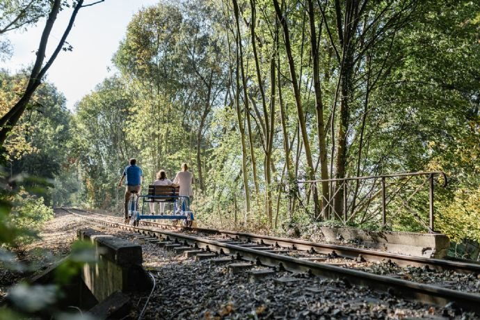 Draisinenbahn in Zossen