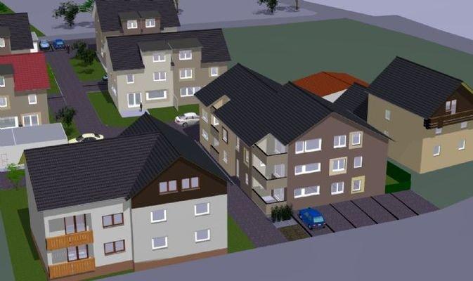 Mehrfamilienhaus  Süd/West