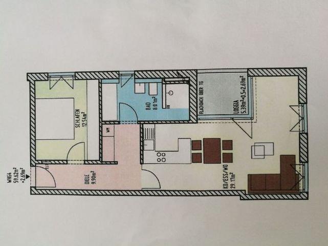 Grundriß Wohnung 4