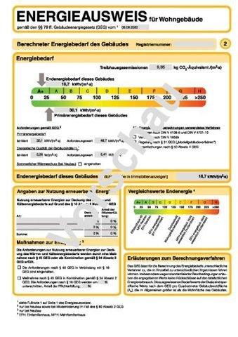 Energieausweis Vorschau 2