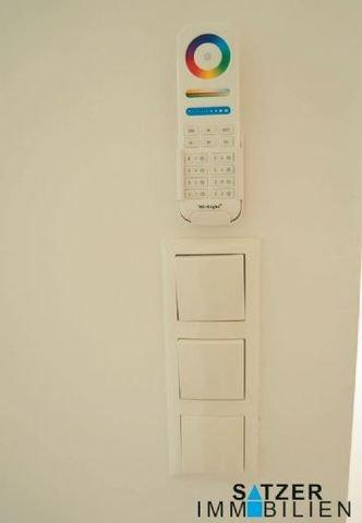 Lichtschalter und Bedienfeld LED-Deckenbeleuchtung