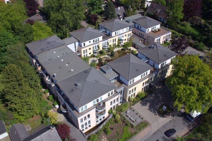 Luftaufnahme der K&S Seniorenresidenz