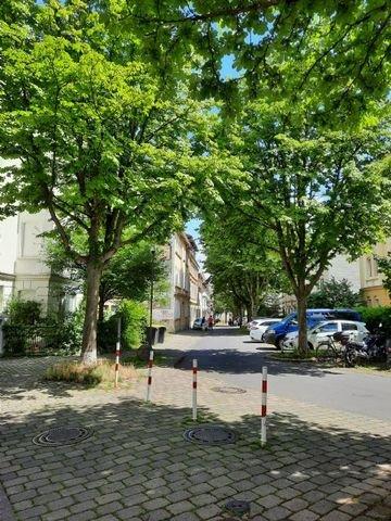 Hentzestraße Richtung Osten
