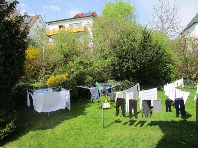 Hinter liegendes Grundstück zum Wäsche trocknen
