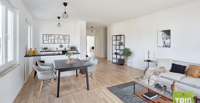 Wohnbereich mit offener Küche 3