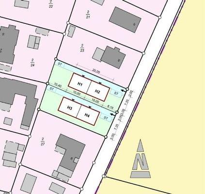 Lageplan Grundstücke