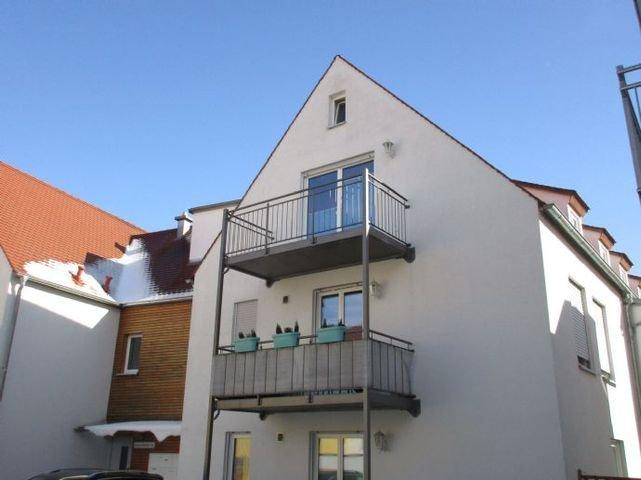 Dachgeschoss mit Balkon Richtung Hof
