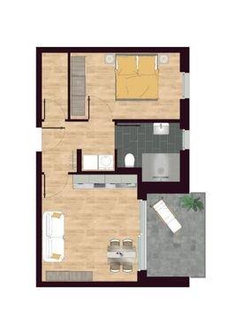 Luisen Suiten Grundriss W05