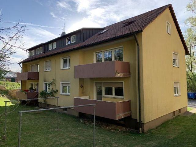 Blick auf das Wohnhaus aus dem Garten