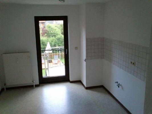 Küche / Zugang Balkon (Foto ohne Küchenzeile)