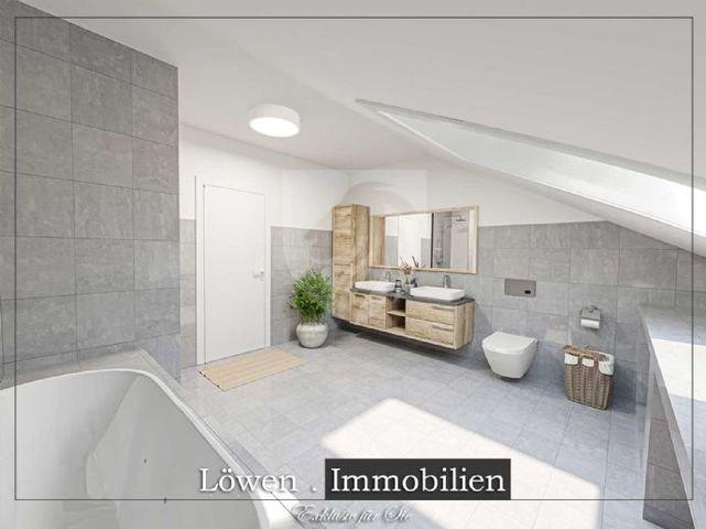 Badezimmer Doppelwaschbecken DigitalStaging