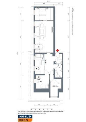 2 D Plan ohne das 1/2 Zimmer
