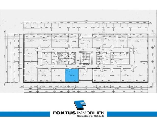 Fontus-Businesspark O1 A Grundriss OG