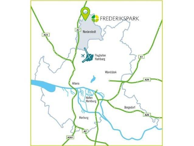 Lage Großraum Hamburg