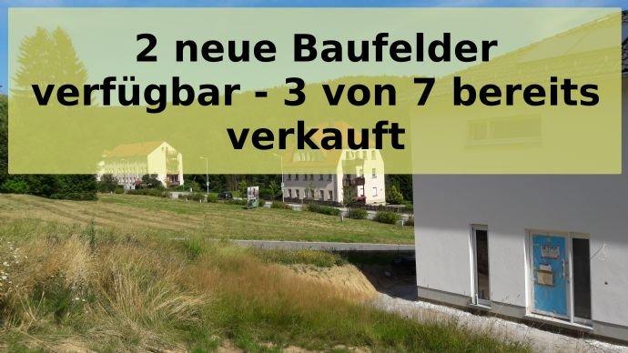 2 neue Baufelder verfügbar - insge. 4 verfügbar