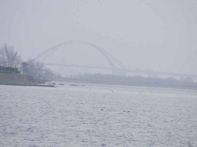 Sundbrücke in Sicht