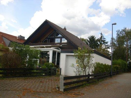 Stichstraße, Ende d. Bebauung