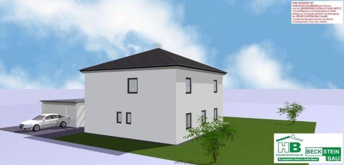 Haus 3 Ansicht 3-D Nordwest