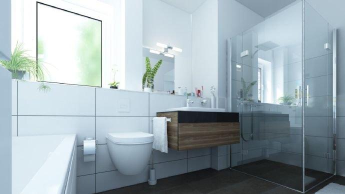 Exemplarisches Badezimmer