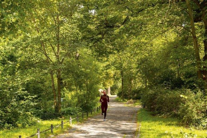 zum joggen in den Park 2
