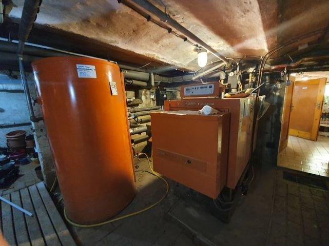 Heizungsanlage im Keller