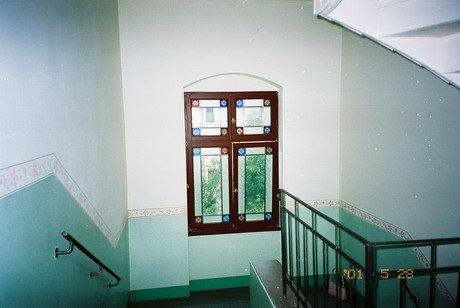 Hausflur-Fenster