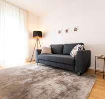Rosengarten Wohnzimmer Musterwohnung