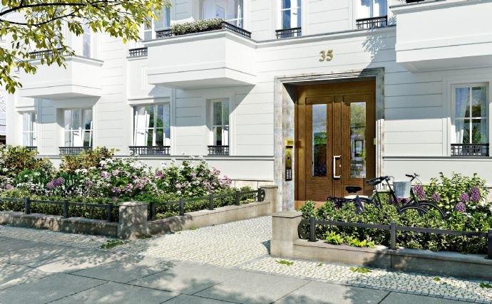 edler Hauseingang