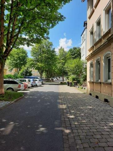 Hentzestraße Richtung Westen