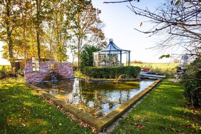 Gartenidylle und Glaspavillon