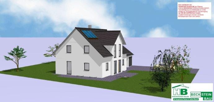 Haus 1 Süd-West Garage mit Satteldach