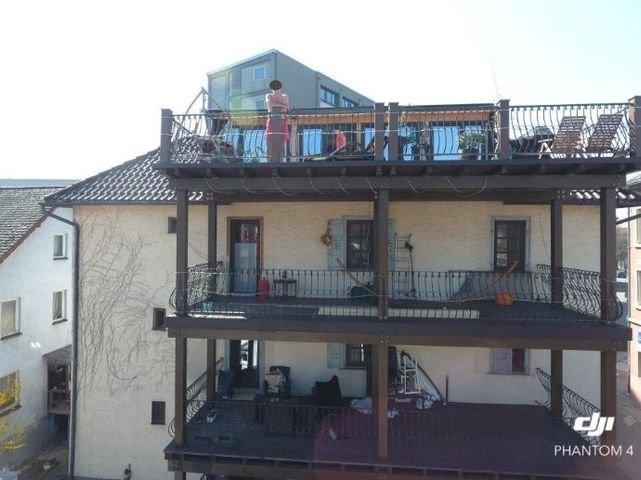 Geräumige Balkone