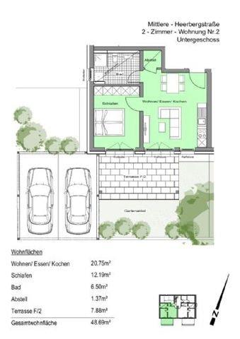 WE 2 mit Terrasse und Garten