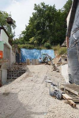 Baugrund für geplante DHH