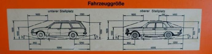 Fahrzeuggröße