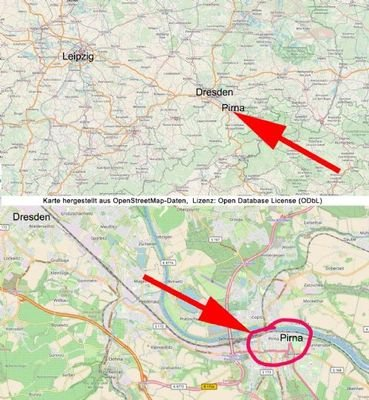 Pirna Siegfried-Rädel-Str. 17  - Lageplan ohne Pfe