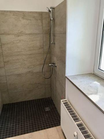 stufenlos begehbare Dusche